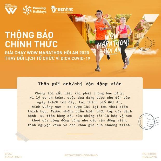 Tạm gác lại cung đường chạy tuyệt đẹp ở phố cổ, tinh thần thể thao tiếp nối với Virtual WOW Marathon Hội An 2020 - Ảnh 1.