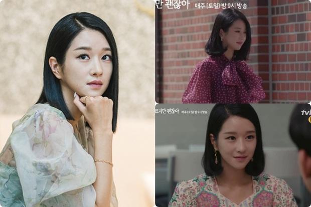 Cả phim đẹp mê hồn, gần cuối phim Seo Ye Ji lại để kiểu tóc xoăn mái nhìn già câng - Ảnh 1.