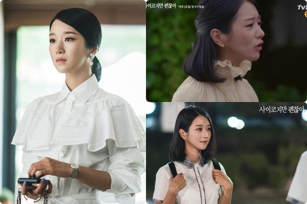 Cả phim đẹp mê hồn, gần cuối phim Seo Ye Ji lại để kiểu tóc xoăn mái nhìn già câng - Ảnh 2.