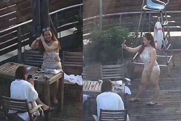Hotgirl mạng Trung Quốc bị bóc mẽ nhan sắc thật: Biết rõ là hình ảnh được chỉnh quá đà nhưng vẫn khiến nhiều người bật ngửa khi gặp ngoài đời - Ảnh 2.