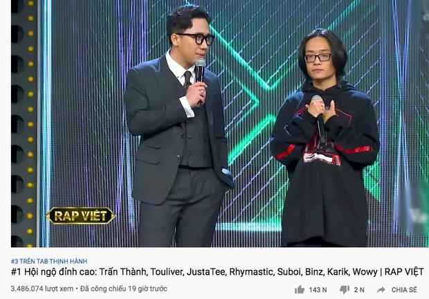 Hai TV Show về Rap quyết lên sóng đối đầu trong một đêm: Rap Việt vượt lên King Of Rap về hiệu ứng lan tỏa! - Ảnh 1.
