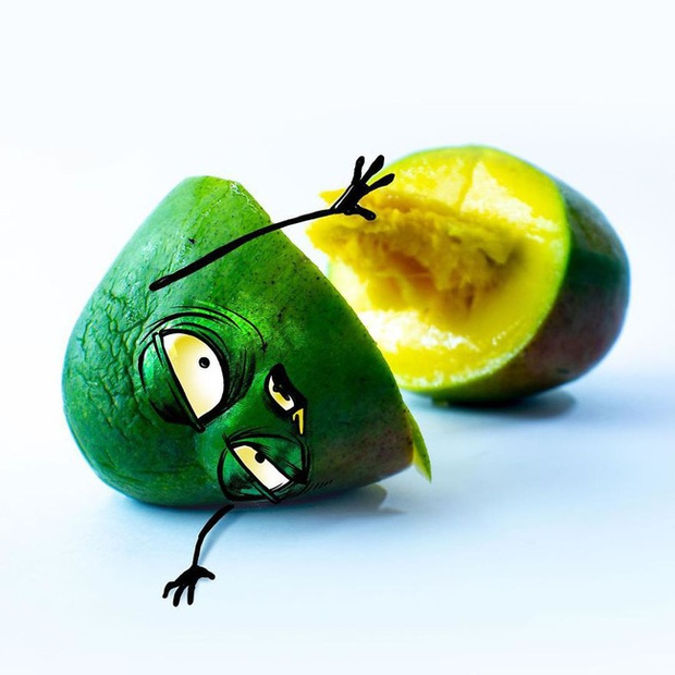 Khi trái cây vô hồn có cảm xúc: Loạt tác phẩm khắc họa nỗi đau và cuộc đời bi kịch của chúng khi bị con người xẻ thịt - Ảnh 11.