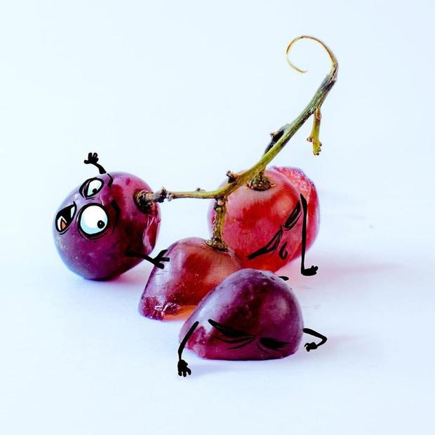 Khi trái cây vô hồn có cảm xúc: Loạt tác phẩm khắc họa nỗi đau và cuộc đời bi kịch của chúng khi bị con người xẻ thịt - Ảnh 15.