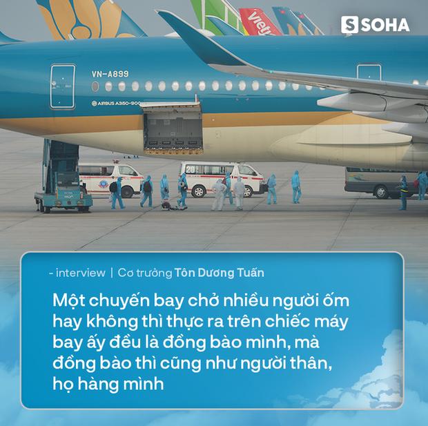 Cơ trưởng chuyến bay đưa 129 người nhiễm Covid-19 từ Guinea Xích Đạo về Việt Nam: Đó là mệnh lệnh từ trái tim - Ảnh 4.