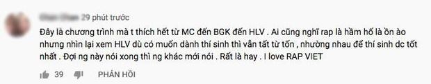 Rap Việt thắng lớn: Ngay tập đầu tiên đã nhận cơn mưa lời khen, phủ sóng mạng xã hội! - Ảnh 4.
