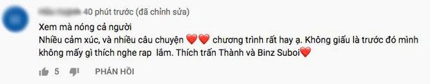 Rap Việt thắng lớn: Ngay tập đầu tiên đã nhận cơn mưa lời khen, phủ sóng mạng xã hội! - Ảnh 5.