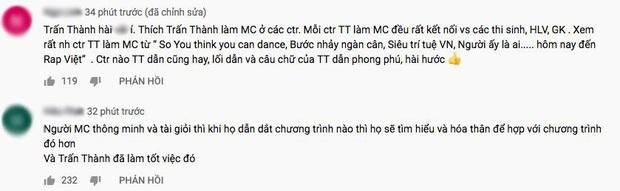 Rơi nước mắt ngay tập mở màn Rap Việt, Trấn Thành được khen ngợi bởi lối dẫn dắt chuyên nghiệp - Ảnh 5.