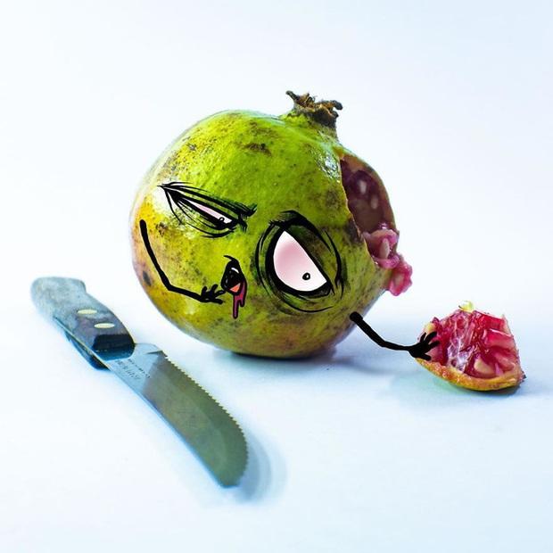 Khi trái cây vô hồn có cảm xúc: Loạt tác phẩm khắc họa nỗi đau và cuộc đời bi kịch của chúng khi bị con người xẻ thịt - Ảnh 5.