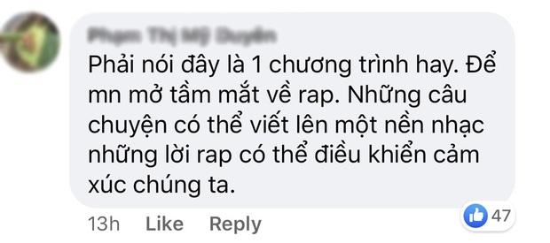 Rap Việt thắng lớn: Ngay tập đầu tiên đã nhận cơn mưa lời khen, phủ sóng mạng xã hội! - Ảnh 6.