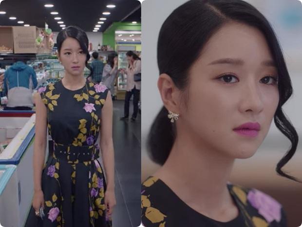 Cả phim đẹp mê hồn, gần cuối phim Seo Ye Ji lại để kiểu tóc xoăn mái nhìn già câng - Ảnh 7.