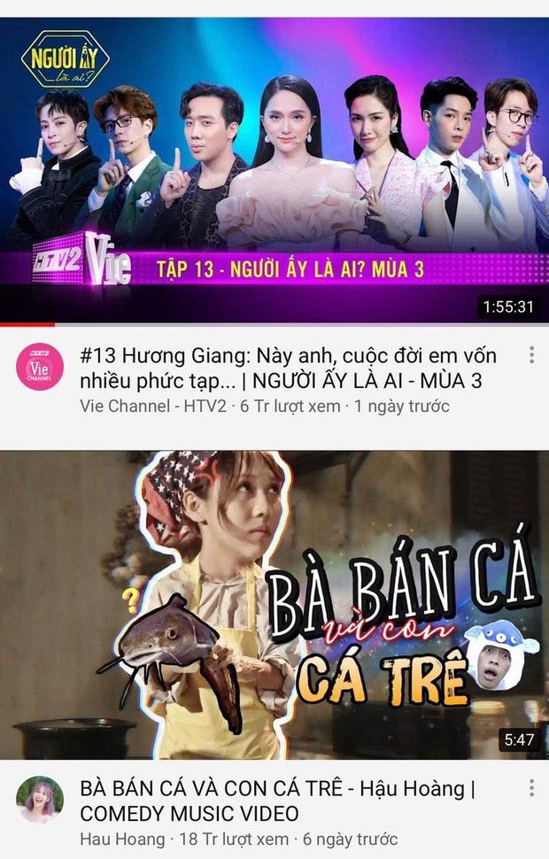 Trấn Thành thống trị top trending YouTube: Người ấy là ai dẫn đầu, Rap Việt khai màn với vị trí thứ 3! - Ảnh 1.