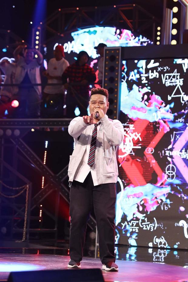 Bé bự một tạ mốt Yuno Bigboi gây sốt ở Rap Việt bày tỏ đã từng nản lòng với Rap, tiết lộ kỳ phùng địch thủ - Ảnh 7.