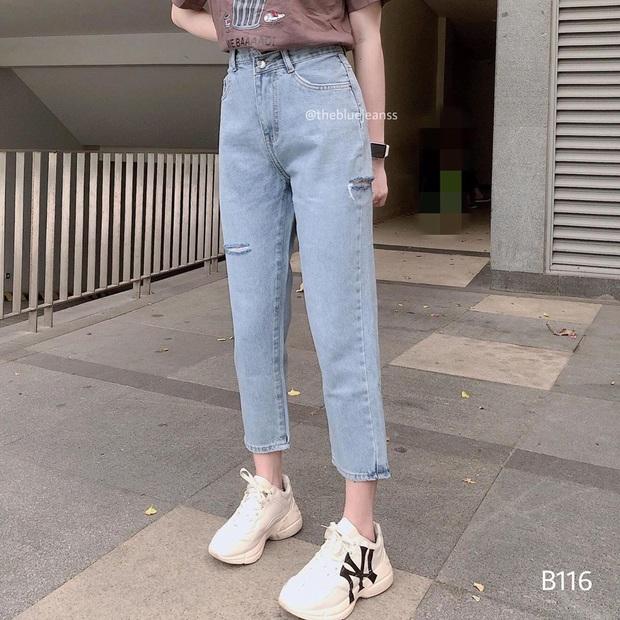 Nếu chỉ sắm 1 kiểu quần jeans, hãy chọn jeans ống đứng: Che nhược điểm đôi chân, mix với áo nào cũng đẹp mà giá chưa đến 200k - Ảnh 10.