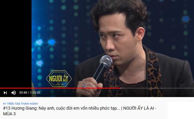 Trấn Thành thống trị top trending YouTube: Người ấy là ai dẫn đầu, Rap Việt khai màn với vị trí thứ 3! - Ảnh 3.