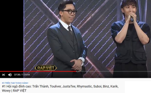 Trấn Thành thống trị top trending YouTube: Người ấy là ai dẫn đầu, Rap Việt khai màn với vị trí thứ 3! - Ảnh 4.
