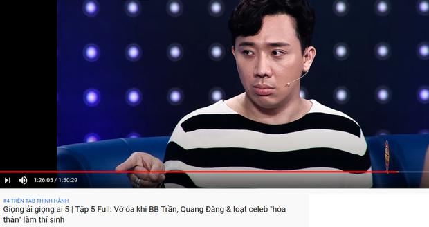 Trấn Thành thống trị top trending YouTube: Người ấy là ai dẫn đầu, Rap Việt khai màn với vị trí thứ 3! - Ảnh 5.
