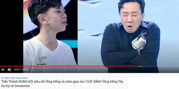 Trấn Thành thống trị top trending YouTube: Người ấy là ai dẫn đầu, Rap Việt khai màn với vị trí thứ 3! - Ảnh 6.