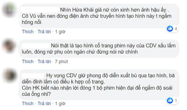 Phim mới của ảnh hậu Châu Đông Vũ tung poster, netizen la ó: Hứa Khải còn xinh hơn cả nữ chính vậy? - Ảnh 4.
