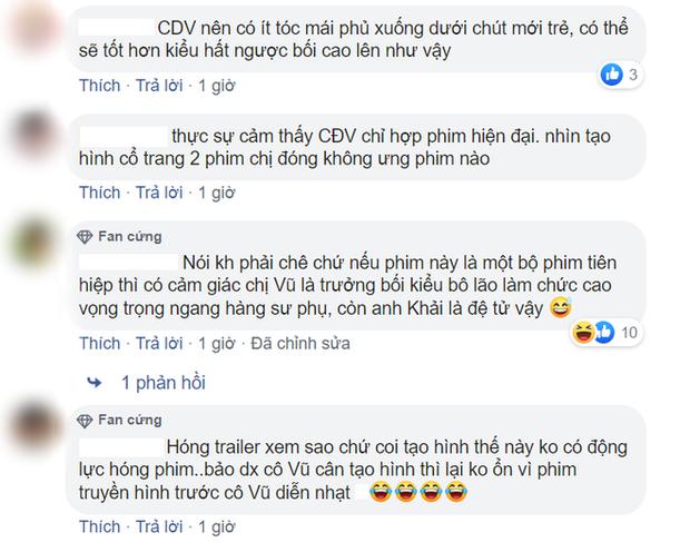 Phim mới của ảnh hậu Châu Đông Vũ tung poster, netizen la ó: Hứa Khải còn xinh hơn cả nữ chính vậy? - Ảnh 5.