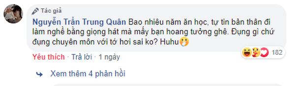 Bị anti-fan chê hát live kém và hát nhép, Nguyễn Trần Trung Quân bức xúc đáp trả, còn đăng luôn clip hát live để dằn mặt - Ảnh 2.