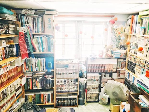 Chàng trai 25 tuổi khoe căn phòng ngập tràn cả nghìn cuốn truyện tranh, dân mạng xuýt xoa: Cả gia tài chứ chẳng đùa! - Ảnh 1.