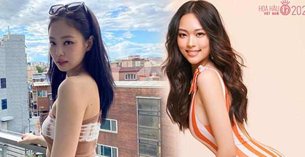 4 thí sinh Hoa hậu Việt Nam 2020 gây sốt vì giống dàn sao hot: Hết na ná Jennie (BLACKPINK) đến bản sao Đặng Thu Thảo - Ảnh 8.