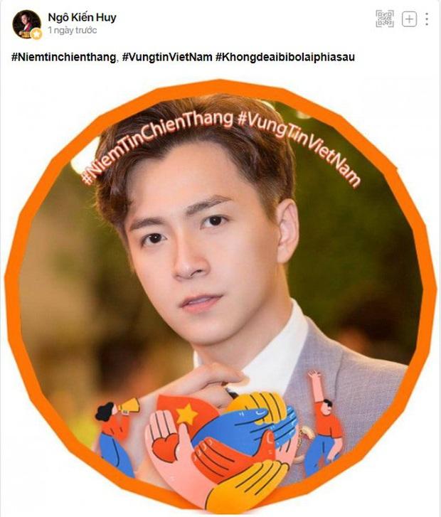 Sao Việt và creators đồng loạt cập nhật avatar cổ vũ Việt Nam chiến thắng COVID-19 - Ảnh 3.