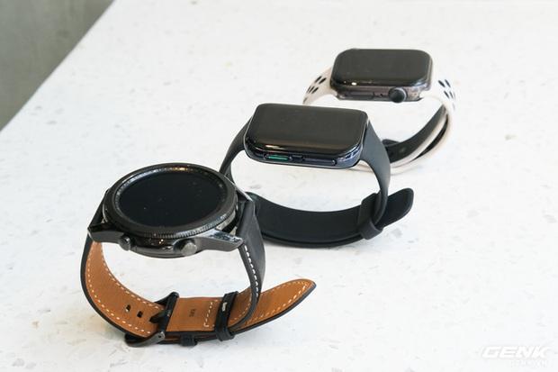 So sánh Galaxy Watch3, OPPO Watch và Apple Watch Series 5, bạn chọn smartwatch nào? - Ảnh 3.