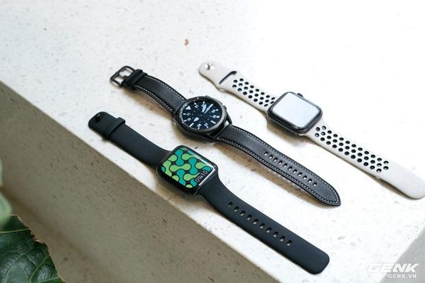 So sánh Galaxy Watch3, OPPO Watch và Apple Watch Series 5, bạn chọn smartwatch nào? - Ảnh 5.