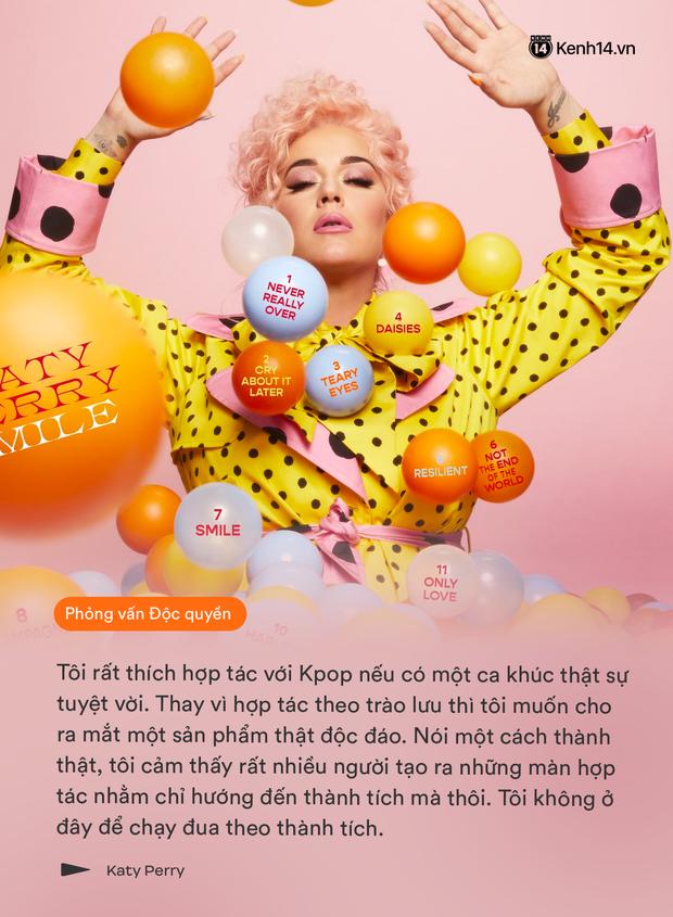 Phỏng vấn Katy Perry: Người đầu tiên nghe album mới là con riêng của Orlando Bloom, không bao giờ có chuyện hủy show vào phút chót! - Ảnh 9.