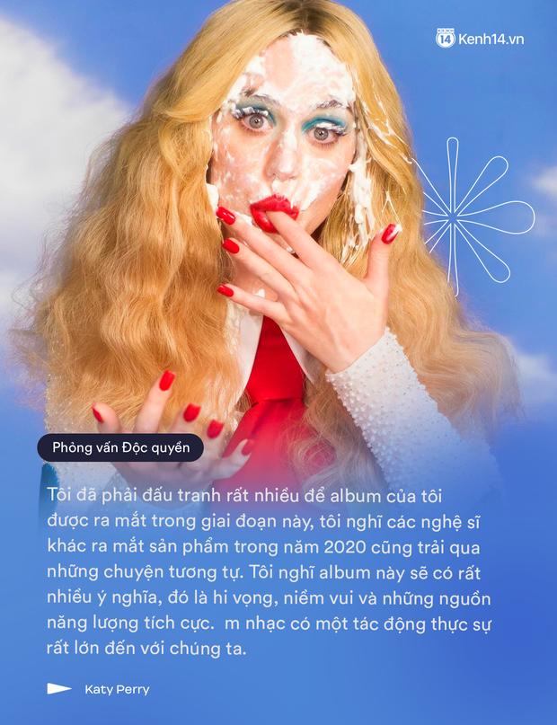 Phỏng vấn Katy Perry: Người đầu tiên nghe album mới là con riêng của Orlando Bloom, không bao giờ có chuyện hủy show vào phút chót! - Ảnh 3.