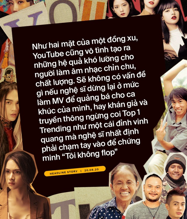 Khổ như ca sĩ Việt: đốt tiền bạc tỷ để chật vật cạnh tranh thứ hạng với BTS, BLACKPINK lẫn clip hài chế, parody trên Top Trending? - Ảnh 1.