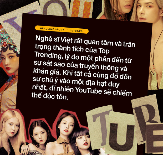 Khổ như ca sĩ Việt: đốt tiền bạc tỷ để chật vật cạnh tranh thứ hạng với BTS, BLACKPINK lẫn clip hài chế, parody trên Top Trending? - Ảnh 3.