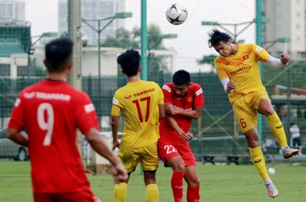 Tiểu Văn Toàn lập công giúp đội nhà chiến thắng trong trận đấu tập của U22 Việt Nam - Ảnh 2.