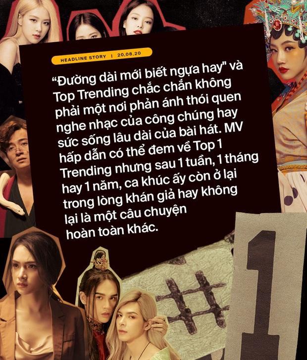 Khổ như ca sĩ Việt: đốt tiền bạc tỷ để chật vật cạnh tranh thứ hạng với BTS, BLACKPINK lẫn clip hài chế, parody trên Top Trending? - Ảnh 10.