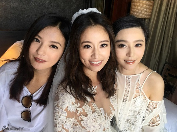 Màn đọ sắc quy tụ 3 đại Hoa đán: Triệu Vy tươi rói bên 2 đối thủ truyền kiếp, hóa ra đây lại là đám cưới Lâm Tâm Như - Ảnh 4.
