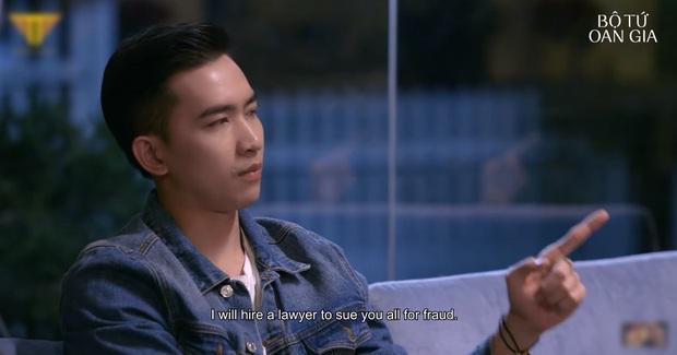 Web drama mới của Thu Trang mở đầu siêu nhây nhưng khoan đã, Võ Cảnh vừa phát ngôn câu gì giống Sếp Tùng thế? - Ảnh 4.