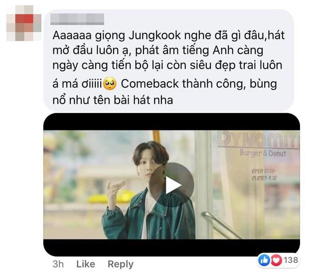 Jungkook là cái tên hot nhất hôm nay: Đã đẹp trai đốn tim fan còn được khen hát tiếng Anh như người bản xứ, bảo sao nhiều line nhất BTS - Ảnh 13.