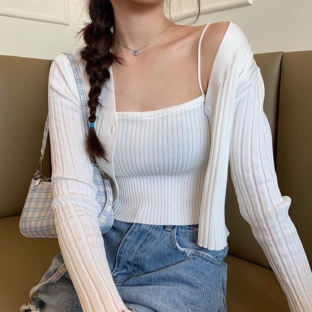 Ngọc Trinh diện nguyên set dệt kim xinh và sexy quá, các nàng học theo chắc chắn style lên đời - Ảnh 10.