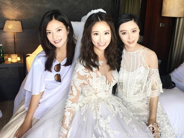 Màn đọ sắc quy tụ 3 đại Hoa đán: Triệu Vy tươi rói bên 2 đối thủ truyền kiếp, hóa ra đây lại là đám cưới Lâm Tâm Như - Ảnh 6.