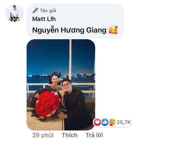 Bão like trên hình kỷ niệm 2 tháng của Hương Giang - Matt Liu, cặp đôi chưa bao giờ hết hot! - Ảnh 4.