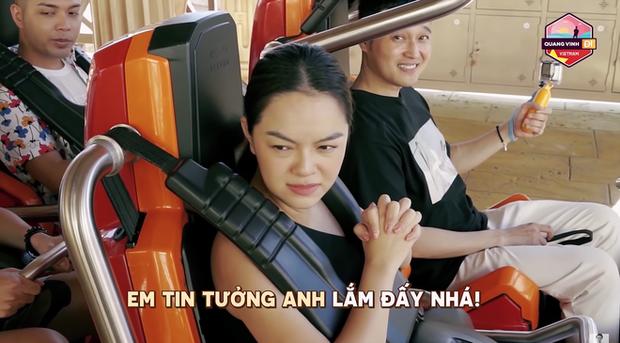 Hết Trịnh Thăng Bình, Phạm Quỳnh Anh đến Linh Ka đều kêu nể mặt Quang Vinh lắm mới chơi mấy trò cảm giác mạnh - Ảnh 1.