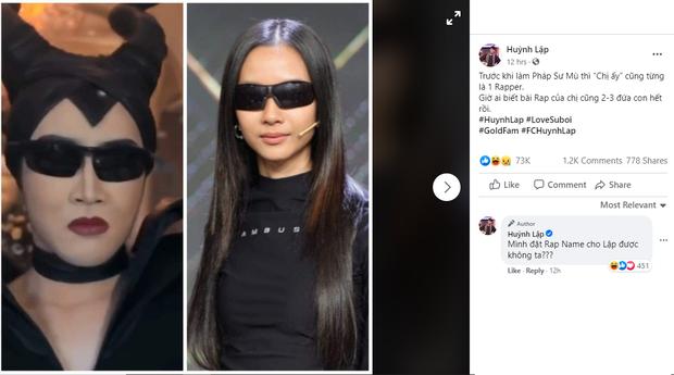 Hết Trấn Thành, Diệu Nhi, đến cả Huỳnh Lập cũng gia nhập hội yêu Suboi, lại còn nhờ fan đặt rap name! - Ảnh 4.