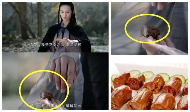 Kho đạo cụ siêu nghèo của phim cổ trang Trung: Hết gắn hoa giả lại dùng dây buộc tóc làm ngọc minh châu - Ảnh 9.