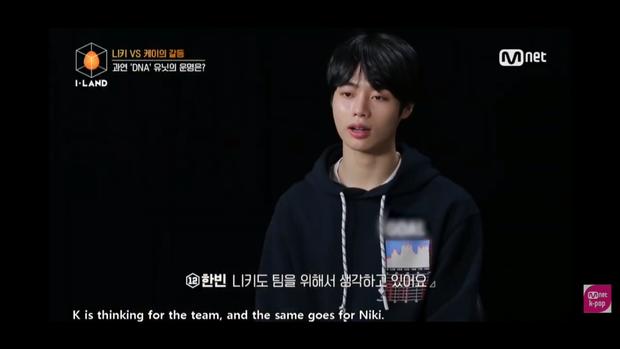 Hanbin (Việt Nam) thăng hạng sau bài kiểm tra BTS tại I-LAND: Nhân cách và thái độ được giám khảo khen ngợi - Ảnh 3.