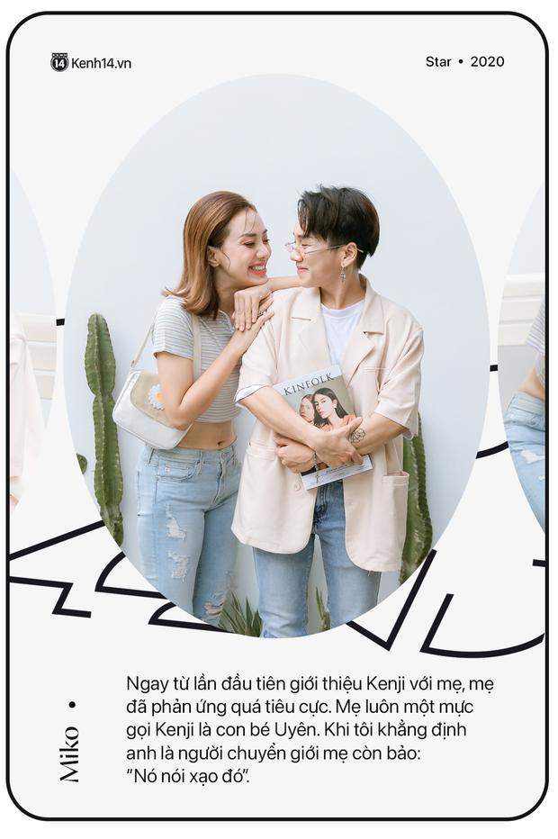 Gặp Miko Lan Trinh và bạn trai chuyển giới: Ra ngoài tôi sẽ nói chuyện hẹn hò anh là thật, còn về nhà tôi phải thuyết phục mẹ đây là PR - Ảnh 4.
