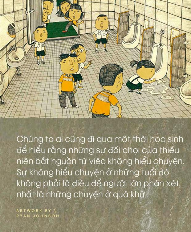 Giang ơi, nhóm bạn cấp 2 và câu chuyện bắt nạt: Ai cũng từng đi qua thời học sinh, nhưng hãy đối diện với những vấn đề của quá khứ như một người lớn! - Ảnh 3.