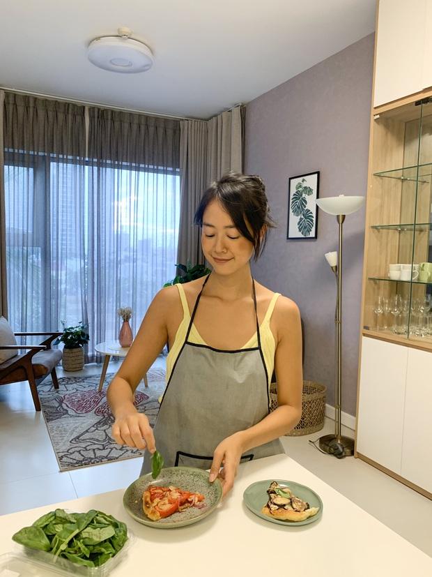Gái xinh Pháp gốc Việt ăn chay trường, khoe mâm cơm đẹp như 1 tác phẩm nghệ thuật, sao nỡ... bỏ vào bụng đây? - Ảnh 2.