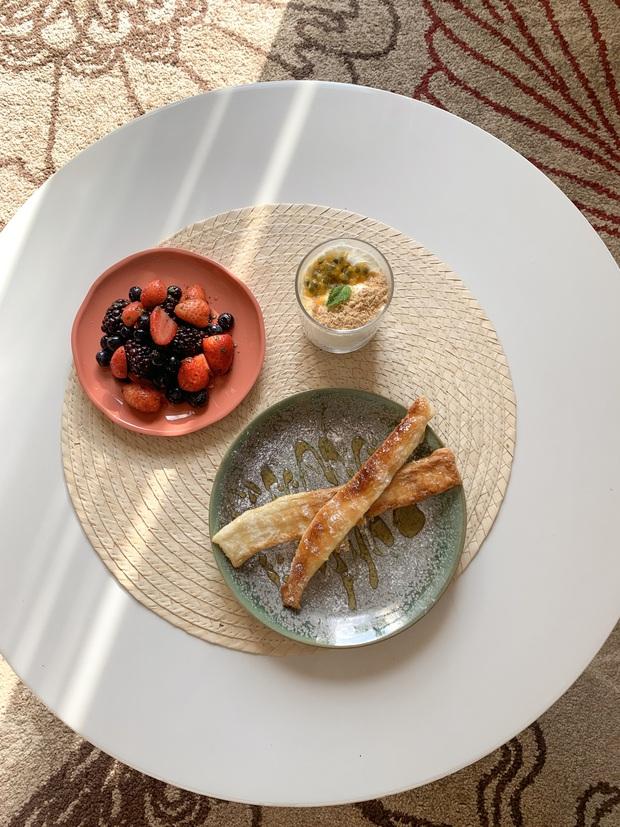 Gái xinh Pháp gốc Việt ăn chay trường, khoe mâm cơm đẹp như 1 tác phẩm nghệ thuật, sao nỡ... bỏ vào bụng đây? - Ảnh 7.