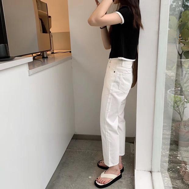 """Đụng hàng quần jeans: Mẹ bỉm sữa Triệu Lệ Dĩnh trẻ trung khó tin, Địch Lệ Nhiệt Ba """"soái"""" mê hồn - Ảnh 5."""